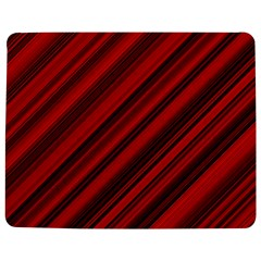 Background Red Lines Jigsaw Puzzle Photo Stand (rectangular) by AnjaniArt