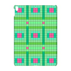 Checkerboard Squares Abstract Green Apple Ipad Pro 10 5   Hardshell Case
