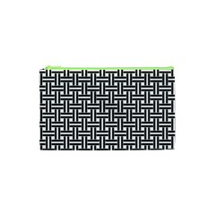 Braiding Vector Fabric Pattern Cosmetic Bag (xs)