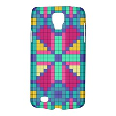 Checkerboard Squares Abstract Samsung Galaxy S4 Active (i9295) Hardshell Case