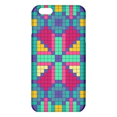 Checkerboard Squares Abstract Iphone 6 Plus/6s Plus Tpu Case by AnjaniArt