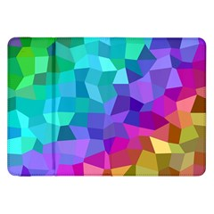 Colorful Multicolored Rainbow Samsung Galaxy Tab 8 9  P7300 Flip Case