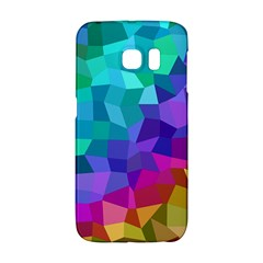 Colorful Multicolored Rainbow Samsung Galaxy S6 Edge Hardshell Case