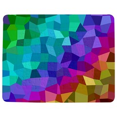 Colorful Multicolored Rainbow Jigsaw Puzzle Photo Stand (rectangular) by AnjaniArt