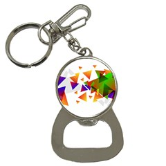 Abstract Triangle Bottle Opener Key Chains