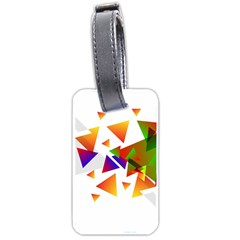 Abstract Triangle Luggage Tags (one Side)  by Jojostore