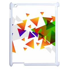 Abstract Triangle Apple Ipad 2 Case (white)