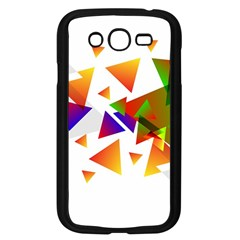 Abstract Triangle Samsung Galaxy Grand Duos I9082 Case (black)