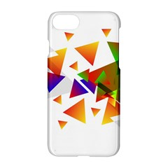 Abstract Triangle Apple Iphone 7 Hardshell Case