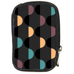 Abstract Background Modern Compact Camera Leather Case