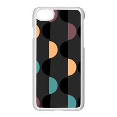 Abstract Background Modern Apple Iphone 8 Seamless Case (white)