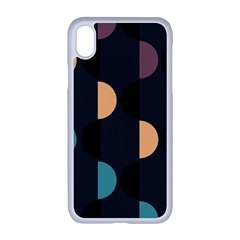 Abstract Background Modern Apple Iphone Xr Seamless Case (white)