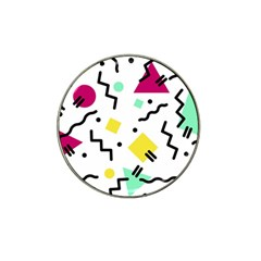 Background Abstract Hat Clip Ball Marker (10 Pack)