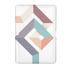 1  Rhombus Geometry  Abstract Samsung Galaxy Tab 2 (10 1 ) P5100 Hardshell Case