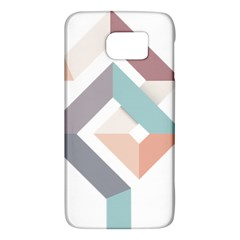 1  Rhombus Geometry  Abstract Samsung Galaxy S6 Hardshell Case