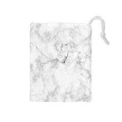 Background Abstract Watercolor White Drawstring Pouch (medium)
