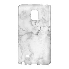 Background Abstract Watercolor White Samsung Galaxy Note Edge Hardshell Case by Jojostore