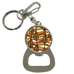 Autumn Leaf Mosaic Bottle Opener Key Chains by Jojostore