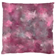 Background Abstract Large Flano Cushion Case (two Sides)