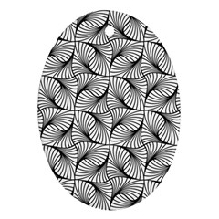 Abstract Seamless Pattern Spiral Ornament (oval)