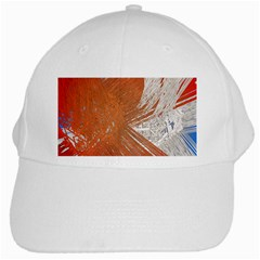 Abstract Lines Background White Cap by Jojostore