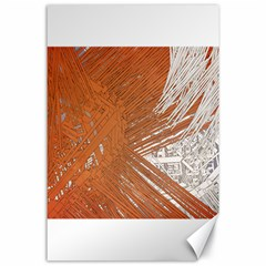 Abstract Lines Background Canvas 24  X 36