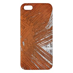 Abstract Lines Background Iphone 5s/ Se Premium Hardshell Case