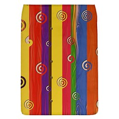 Abstract  Rainbow Removable Flap Cover (l)