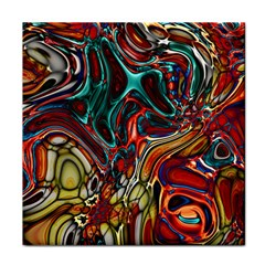 Abstract Art Stained Glass Tile Coasters by Jojostore