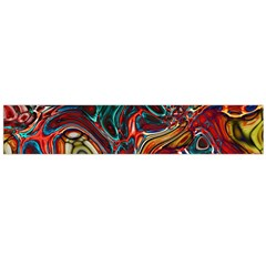 Abstract Art Stained Glass Large Flano Scarf