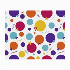 Background Polka Dot Small Glasses Cloth by Jojostore