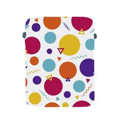 Background Polka Dot Apple Ipad 2/3/4 Protective Soft Cases