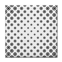 Circle Dot Pattern Dotted Tile Coasters by Jojostore