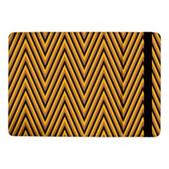Chevron Brown Retro Vintage Samsung Galaxy Tab Pro 10 1  Flip Case