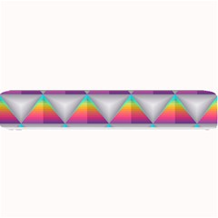 Colorful Triangle Small Bar Mats