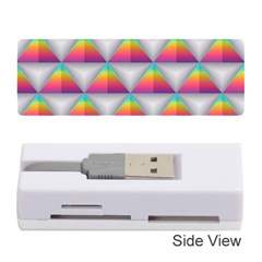 Colorful Triangle Memory Card Reader (stick) by AnjaniArt