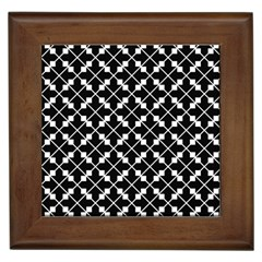 Black Background Arrow Framed Tiles by AnjaniArt