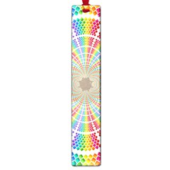 Color Background Structure Lines Rainbow Large Book Marks