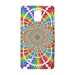 Color Background Structure Lines Rainbow Samsung Galaxy Note 4 Hardshell Case