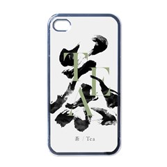 Tea Calligraphy Apple Iphone 4 Case (black)
