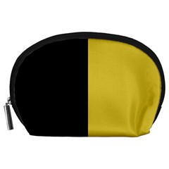 Black   Ceylon Yellow Accessory Pouch (large)