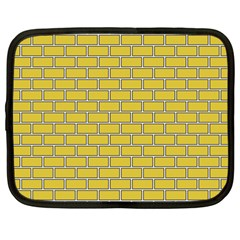 Brick Wall  Netbook Case (large)