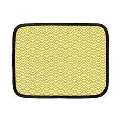 Circly Waves Netbook Case (small) by TimelessFashion