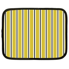 Classic Stripes  Netbook Case (xl) by TimelessFashion