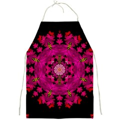 The Star Above Everything Shining Clear And Bright Full Print Aprons by pepitasart