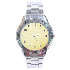 Marble  Stainless Steel Analogue Watch