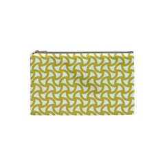 Odd Shaped Grid  Cosmetic Bag (small)