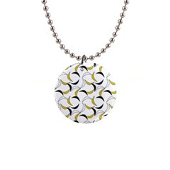 Simply Retro  1  Button Necklace by TimelessFashion