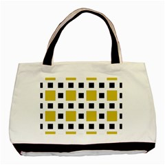 Squares On A Mission Basic Tote Bag