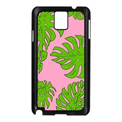 Leaves Tropical Plant Green Garden Samsung Galaxy Note 3 N9005 Case (black)